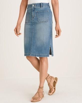 Chico's Denim Skirt