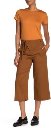 Vince Tie Waist Culotte Pants