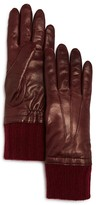 Bloomingdale's Cashmere Lined Leather Gloves