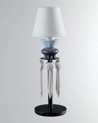 Lladro Belle de Nuit Lithophane Lamp Black