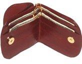 Marshal EEL Skin Leather Ladies Mini Wallet #E505