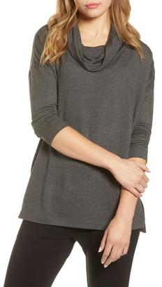 Lou & Grey Signaturesoft Plush Cowl Top
