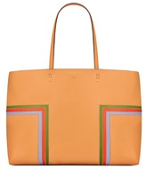 Tory Burch Block-T Stripe Tote