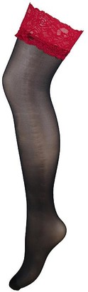 Pour Moi? Alllure Lace Top Stockings