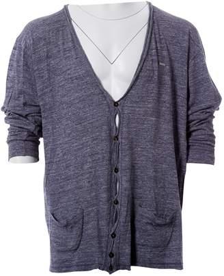 DSQUARED2 Blue Cotton Knitwear & Sweatshirts