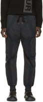 Kokon To Zai Black & Grey Cut-Out Lounge Pants