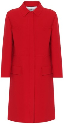 Valentino virgin wool coat