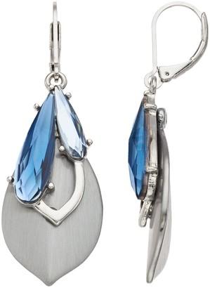 Simply Vera Vera Wang Blue Drop Earrings