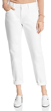 Current/Elliott The Fling Boyfriend Jeans in 0 Clean White