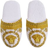 Versace Baroque & Robe Printed Slippers