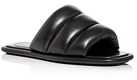 Proenza Schouler Women's Quilted Slide Sandals