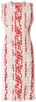 Alexander McQueen embroidered shift dress