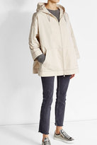 Brunello Cucinelli Hooded Jacket with Silk