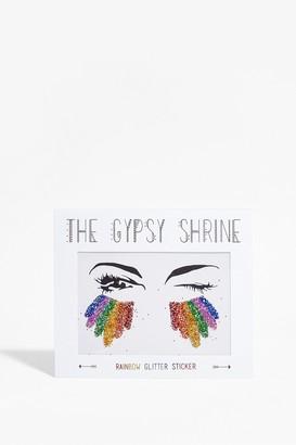 Nasty Gal Womens SHRINE Those Rainbow Eyes Face Stickers - Multi - ONE SIZE, Multi