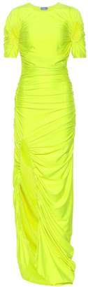 Thierry Mugler Stretch maxi dress