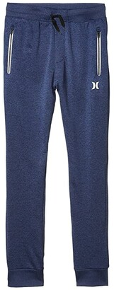 Hurley Dri-Fit Solar Pants (Big Kids) (Blackened Blue Heather) Boy's Casual Pants