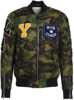 Replay Bomber Jacket green/brown/black camo