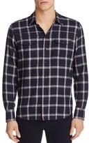Paige Everett Plaid Regular Fit Button-Down Shirt