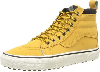 Vans U Sk8-hi Mte Unisex Adults' Hi-Top Sneakers Brown/Yellow (Mte - Honey/Leather) 9 UK
