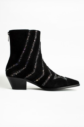 Zadig & Voltaire Tyler Star Ankle Boots