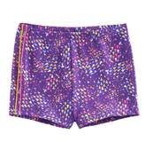 Jacques Moret Girls 4-14 Triangle Abstract Dance Shorts