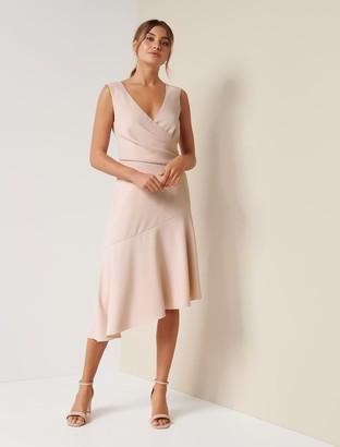 Forever New Cynthia Draped Dress - Blush - 10