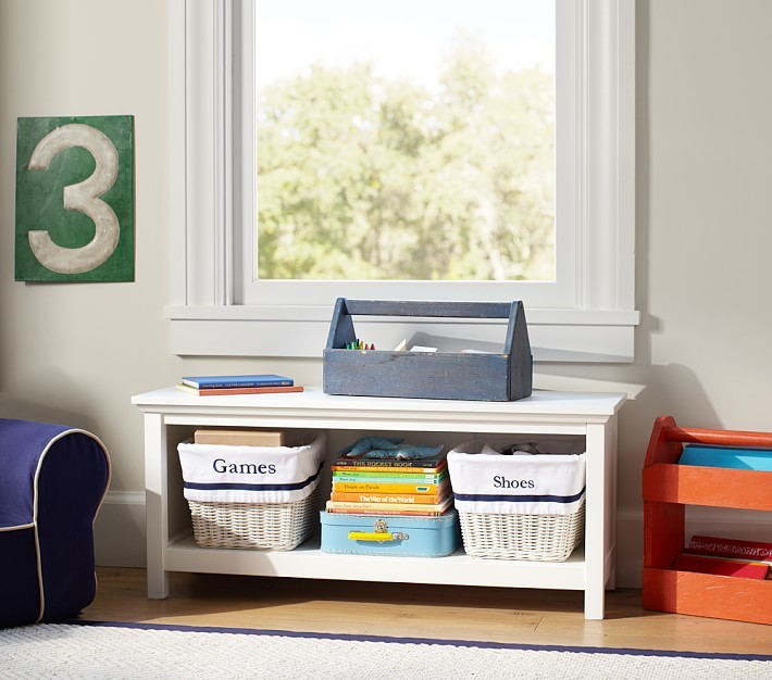 Pottery Barn Kids Cameron 1-Shelf Bookcase