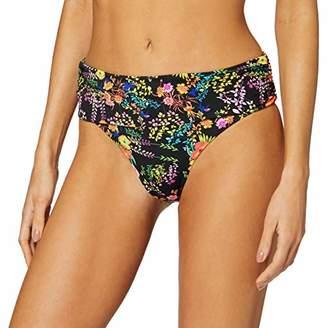 Pour Moi? Women's Hot Spots Fold Over Brief Bikini Bottoms