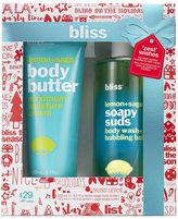 Bliss Zest Wishes 2-pc. Body Butter & Soapy Suds Gift Set