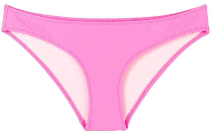 Solid & Striped solid colour bikini bottoms
