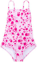 Oscar De La Renta Kids - floral print swimsuit - kids - Polyamide/Spandex/Elastane - 2 yrs
