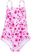 Oscar De La Renta Kids floral print swimsuit