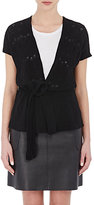 Barneys New York BARNEYS NEW YORK WOMEN'S CASHMERE CAP-SLEEVE CARDIGAN
