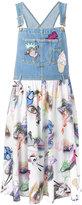 Kenzo dungaree top dress - women - Silk/Cotton - 34