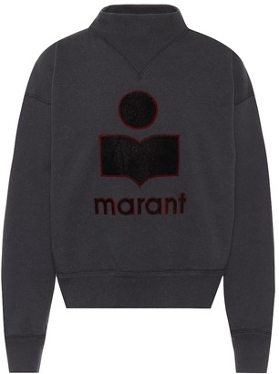 Etoile Isabel Marant Moby cotton-blend sweatshirt