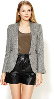 Twenty8Twelve Sigrid Collarless Tweed Blazer