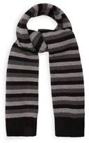 Sonia Rykiel Striped wool-knit scarf