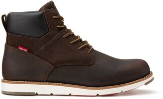 Levi's Jax Plus Ankle Boots in Suede