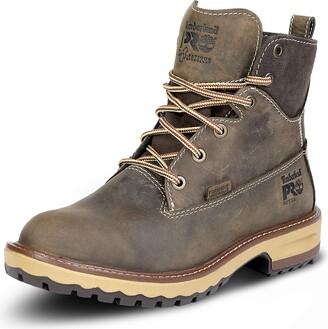 Timberland Women's Hightower 6 Inch Soft Toe Waterproof Work Boot