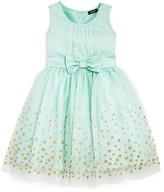 Zunie Girls' Sequined Sheer Overlay Dress - Sizes 2-6X