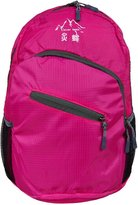 CLEVER BEES Lightweight Packable Hiking Daypack Handy Durable Foldable Outdoor Travel Carry on Backpack