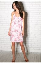 Silver Slippers Printed Floral Dress
