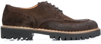 Eleventy Lace-Up Derby Shoes