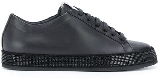 Le Silla Embellished Sole Low-Top Sneakers