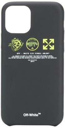 Off-White triple logo iPhone 11 Pro case