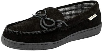 L.B. Evans HideAways by Marion (Black) Men's Slippers