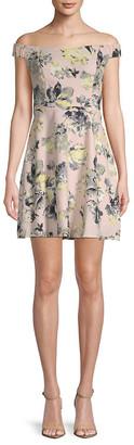 19 Cooper Floral A-Line Dress