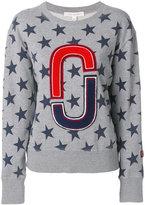 Marc Jacobs stars double J sweatshirt