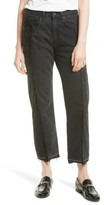 Rag & Bone Women's Two Tone Crop Jeans