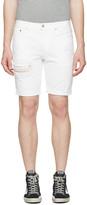 Levi's Levis White Denim 511 Shorts
